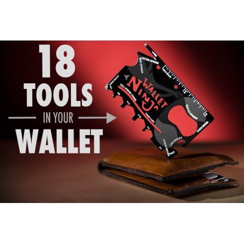 Wallet Ninja 18合1工具卡